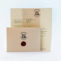 Harry's acceptance letter